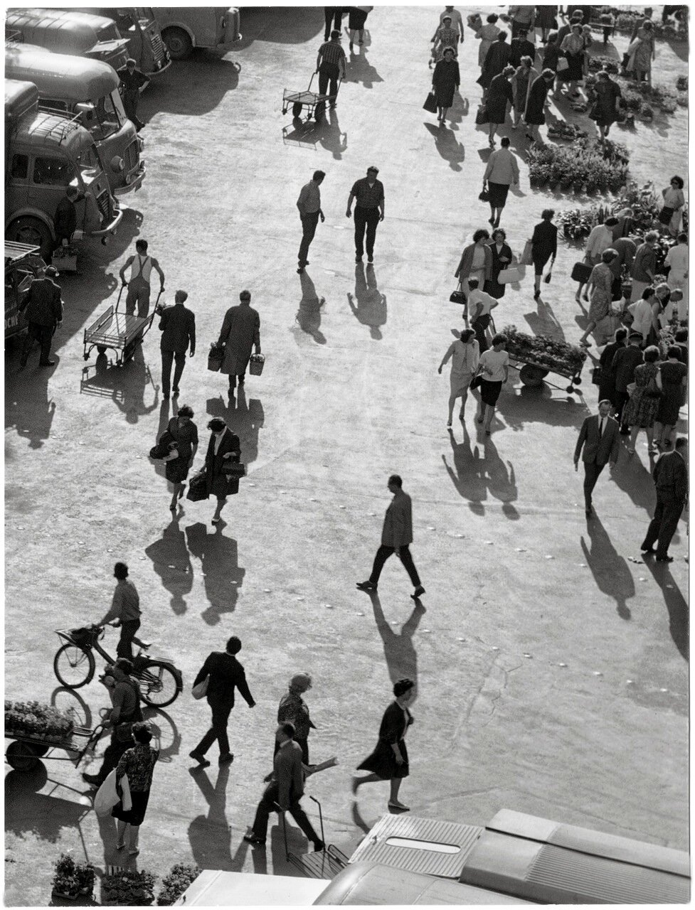 1964. Весной на Рю де Ле-Аль