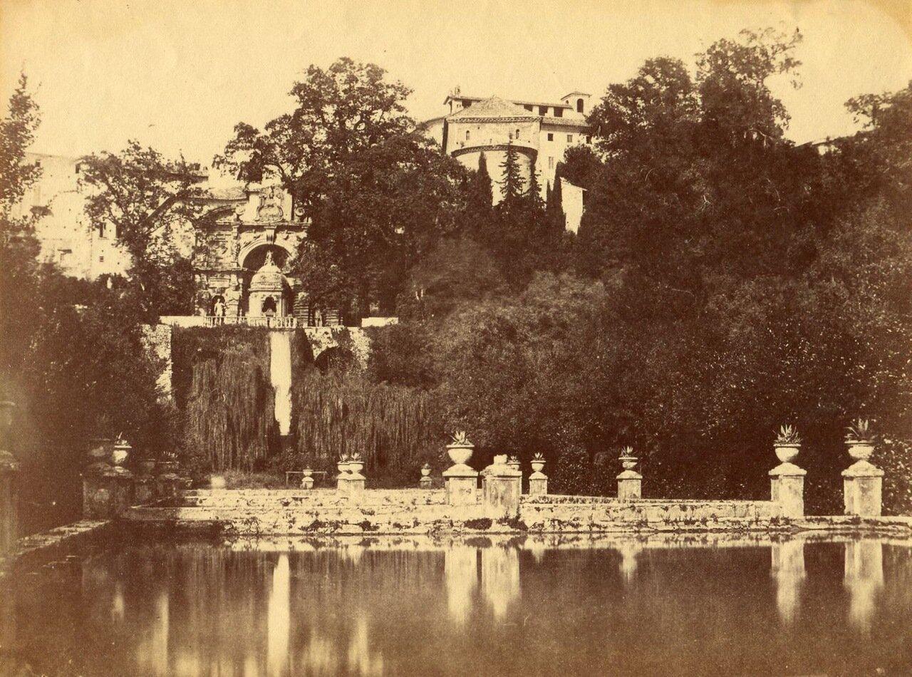Сады Вилла д'Эсте. 1855.