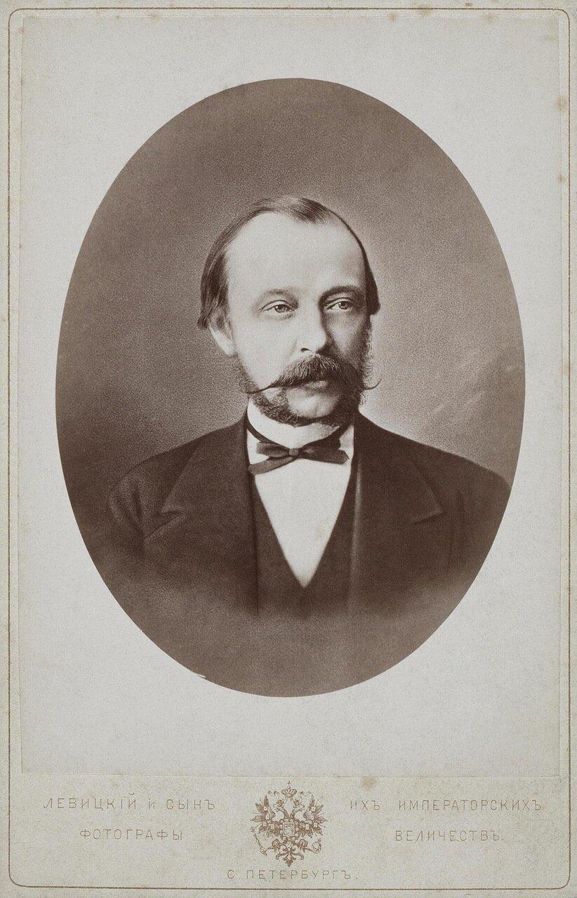 Портрет графа Дмитрия Андреевича Толстого. 1887