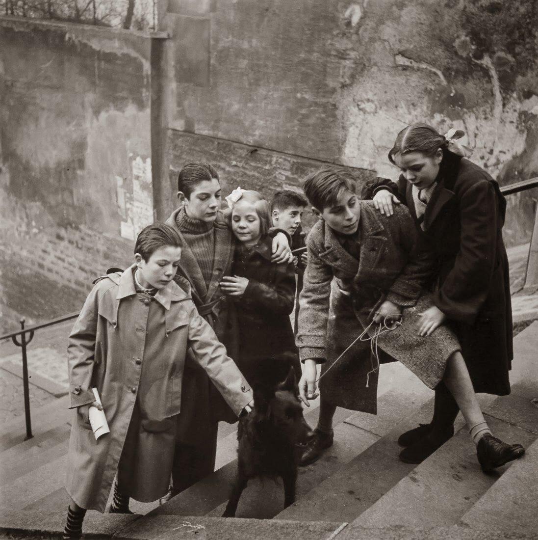 1949. Монмартр. Париж