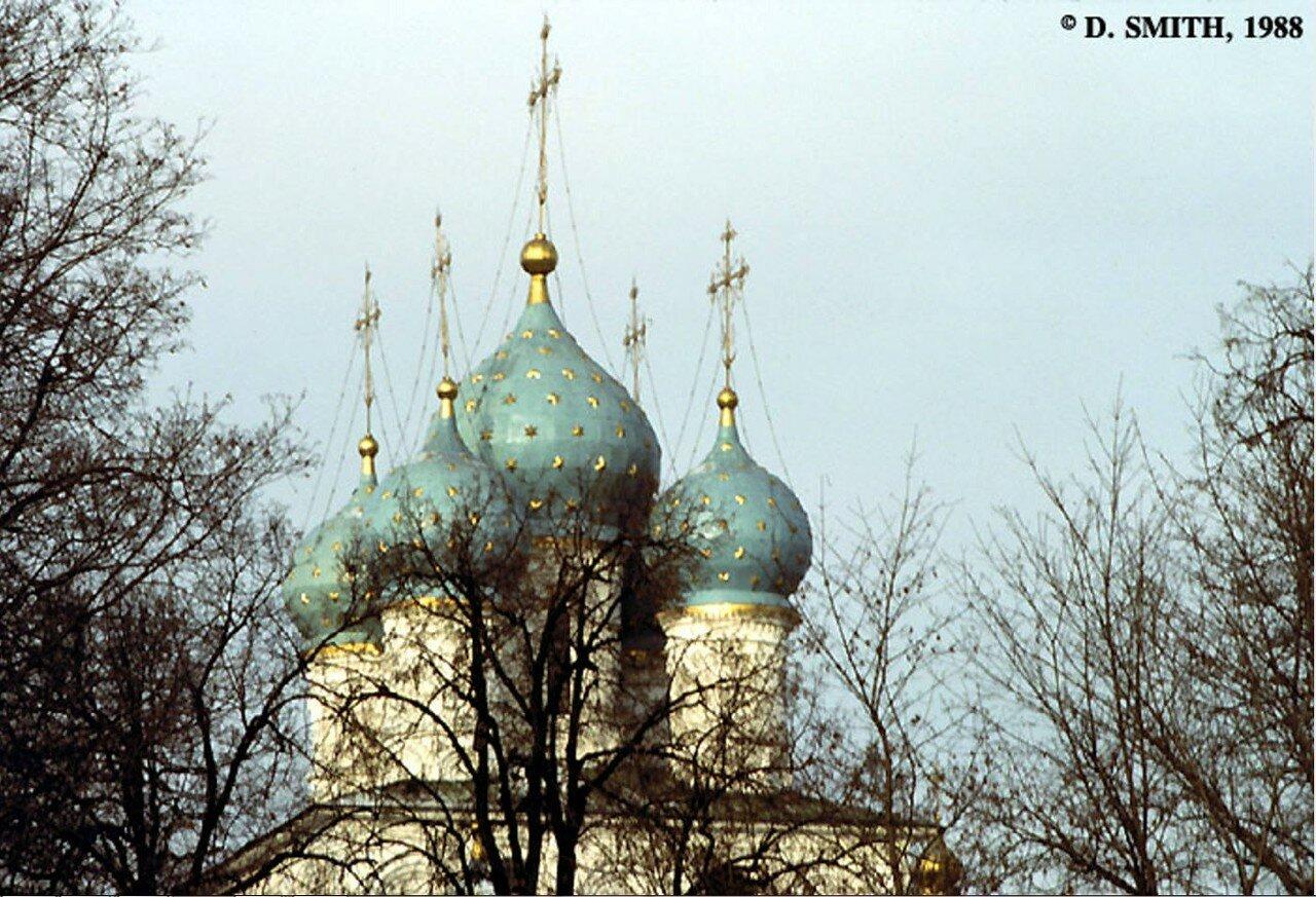 Коломенское. Купола Церкви Вознесения