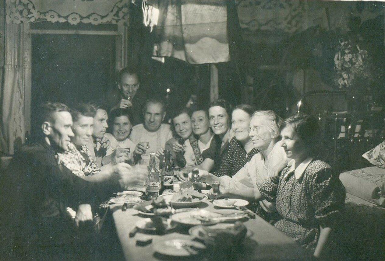 1950-е. Вологодское застолье