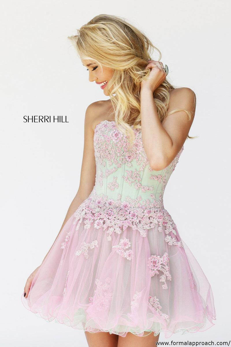 Sherri hill prom dresses 2014 lace