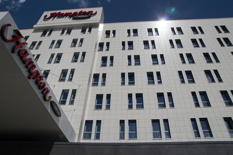 """Отель """"Hampton by Hilton"""" в Уфе"""