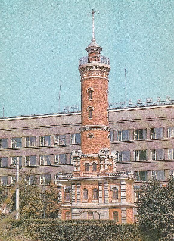 ОМСК. Пожарная башня.