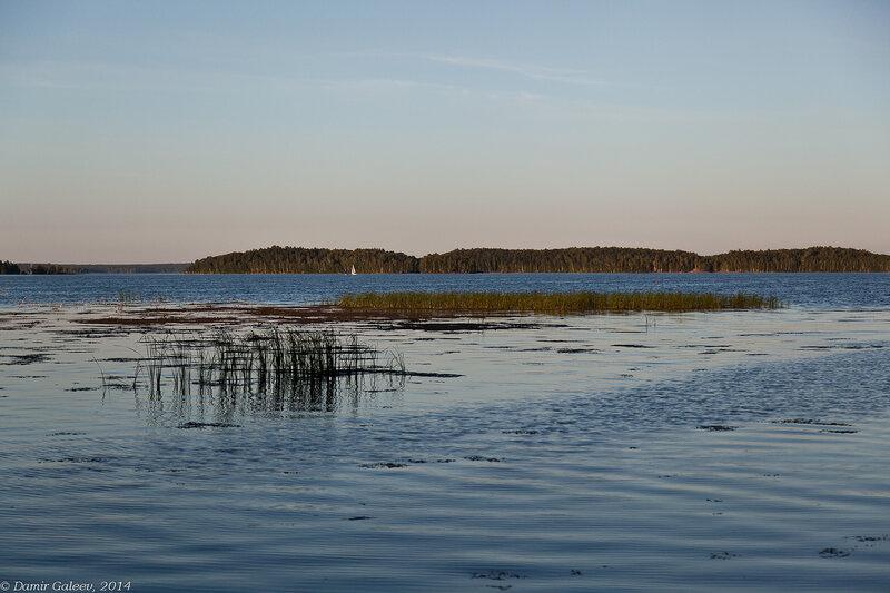 Озеро и люди
