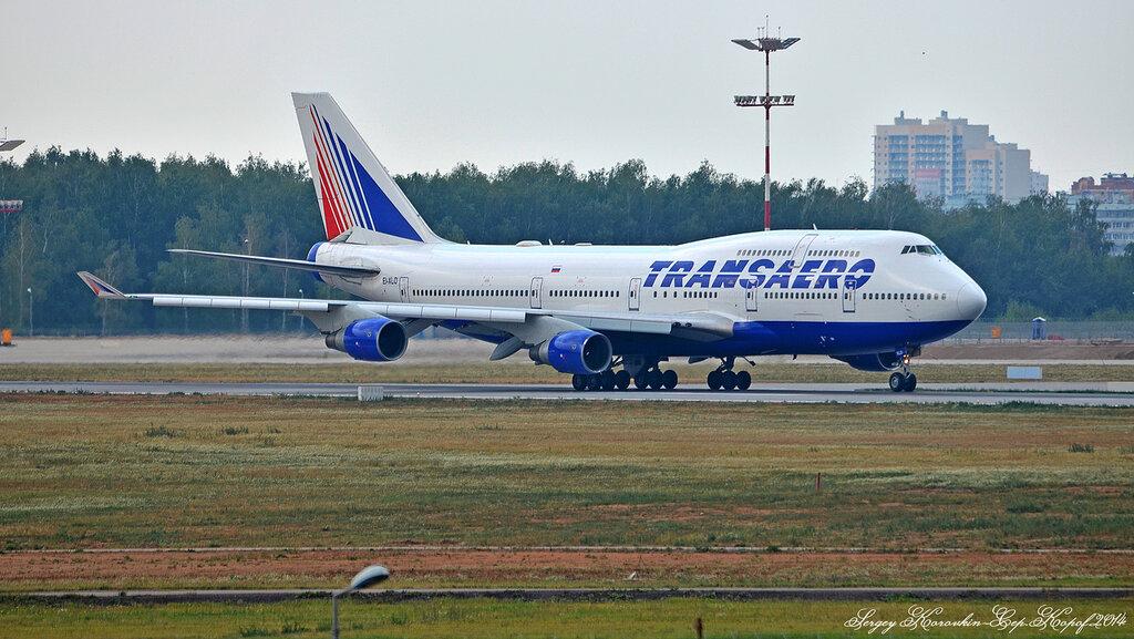 Boeing 747-412 Transaero EI-XLO