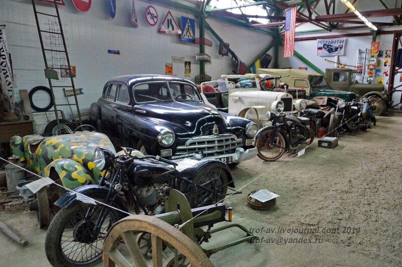 ГАЗ-12 (ЗиМ), 1955 г., СССР.Ломаковский музей старинных автомобилей и мотоциклов, Москва