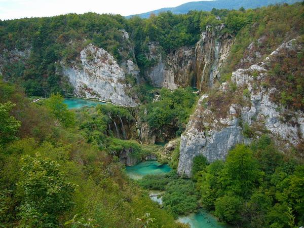 Плитвицкие озера - заповедные места Хорватии