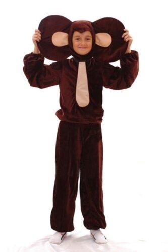 Детский карнавальный костюм Чебурашка