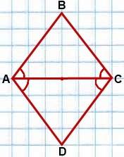 esli diagonal parallelogramma bissektrisa
