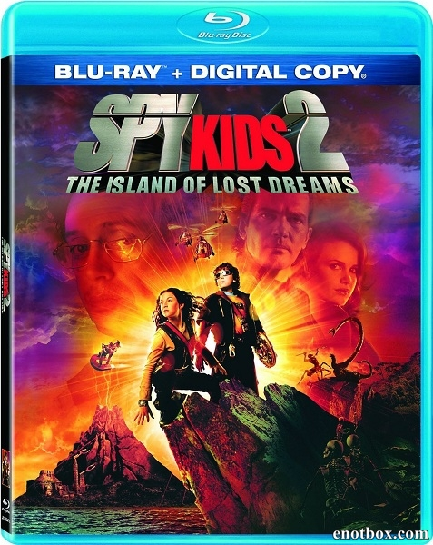Дети шпионов 2 / Остров несбывшихся надежд / Spy Kids 2 / Island of Lost Dreams (2002/BDRip/HDRip)