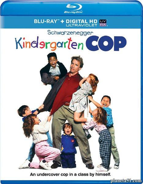 Детсадовский полицейский / Kindergarten Cop (1990/BDRip/HDRip/HDTVRip)