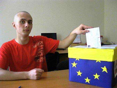 """Акция """"Голос Молдовы в Брюсселе"""". 30 июня 2014 год"""