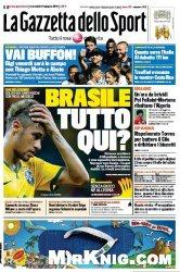 Журнал La Gazzetta dello Sport (18 Giugno 2014)