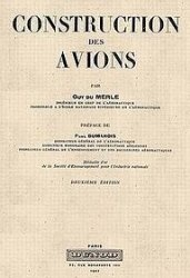 Construction des avions - Guy du Merle