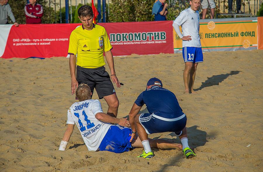 Пляжный футбол в Анапе фото