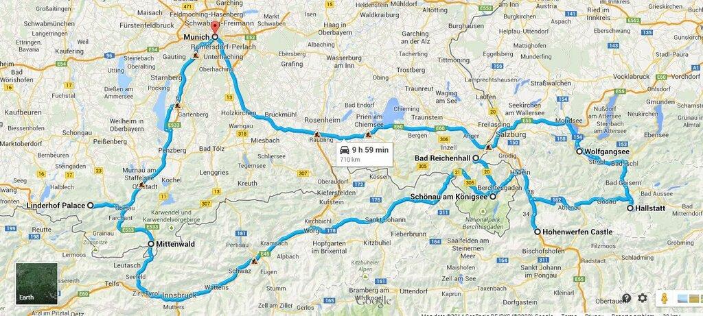 Альпийский автопробег с Сусаниным (часть 1-я)