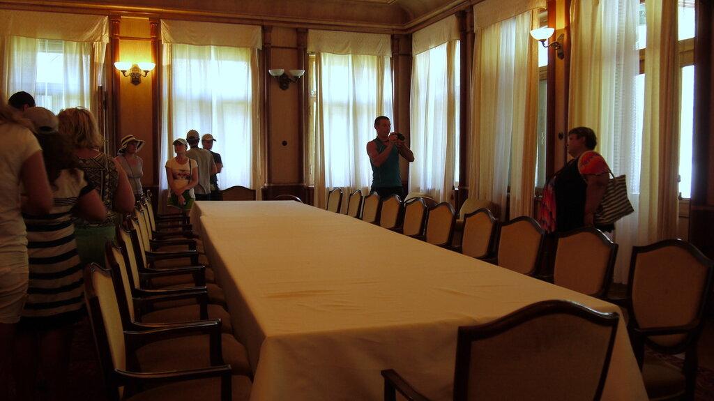 Столовая на даче Сталина