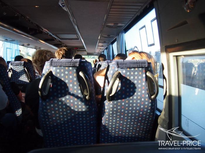 автобус из Даламана в Фетхие