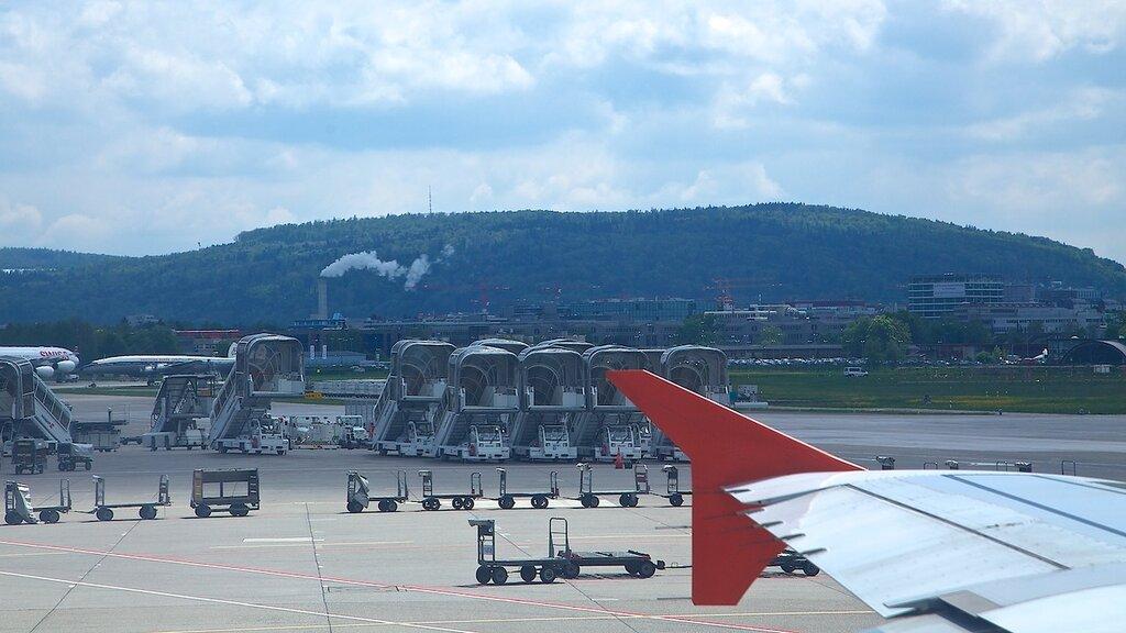 Веб камеры аэропорт Цюрих фото