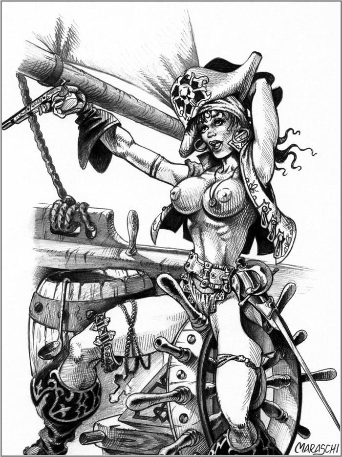 Графика: истории из жизни девушек - пираток (61)