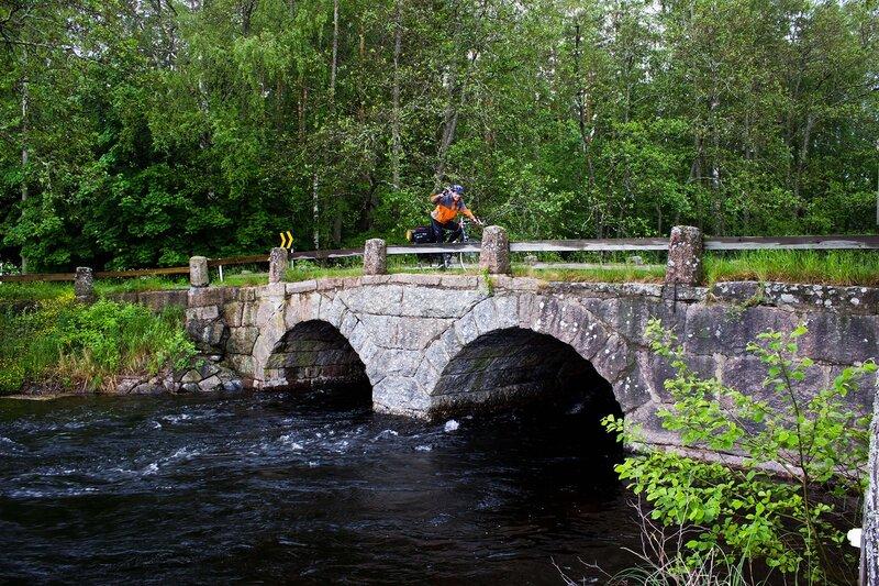 старый мост на дороге 409 в Партакоски (Partakoski)