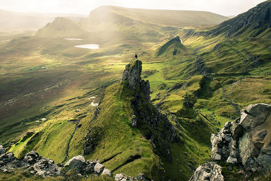 Шотландский остров Скай.