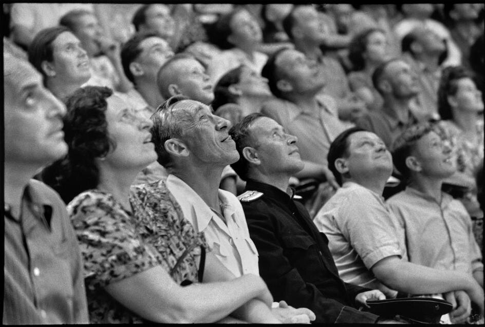 1954. Москва. В цирке