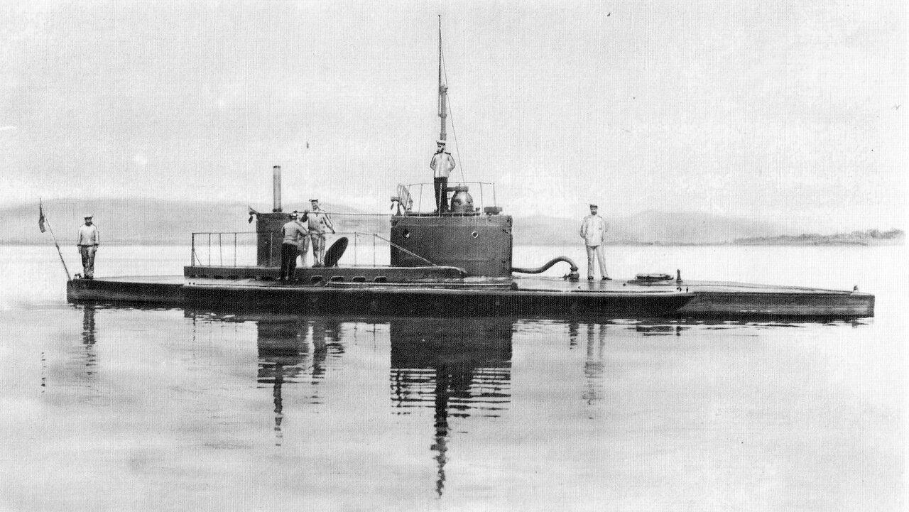 29. Подводная лодка Осётр