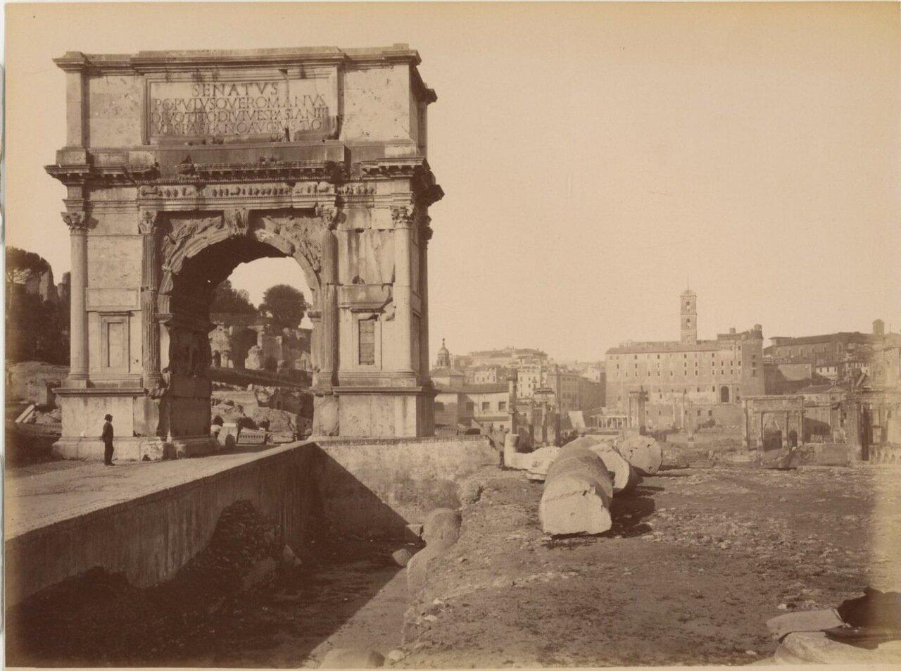 Арка Тита. 1875.