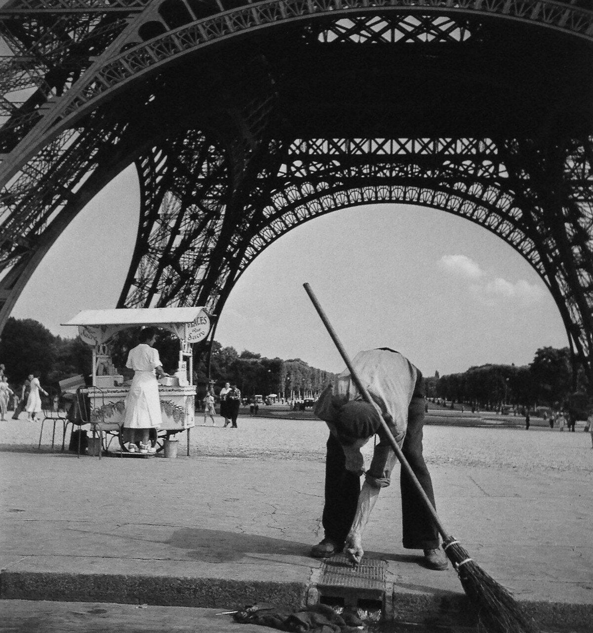 1950. Марсово поле, Париж