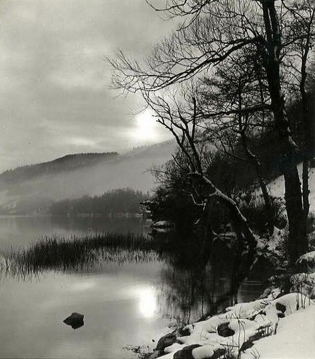 1960. Снежный пейзаж, Межев