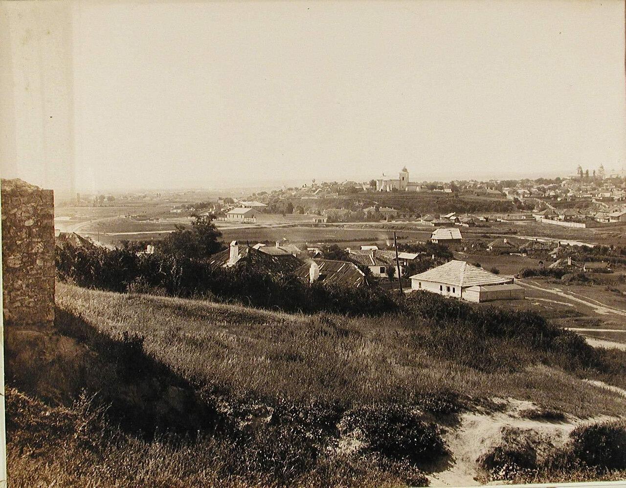 Панорама города Кишинёва, снятая с Рышкановки