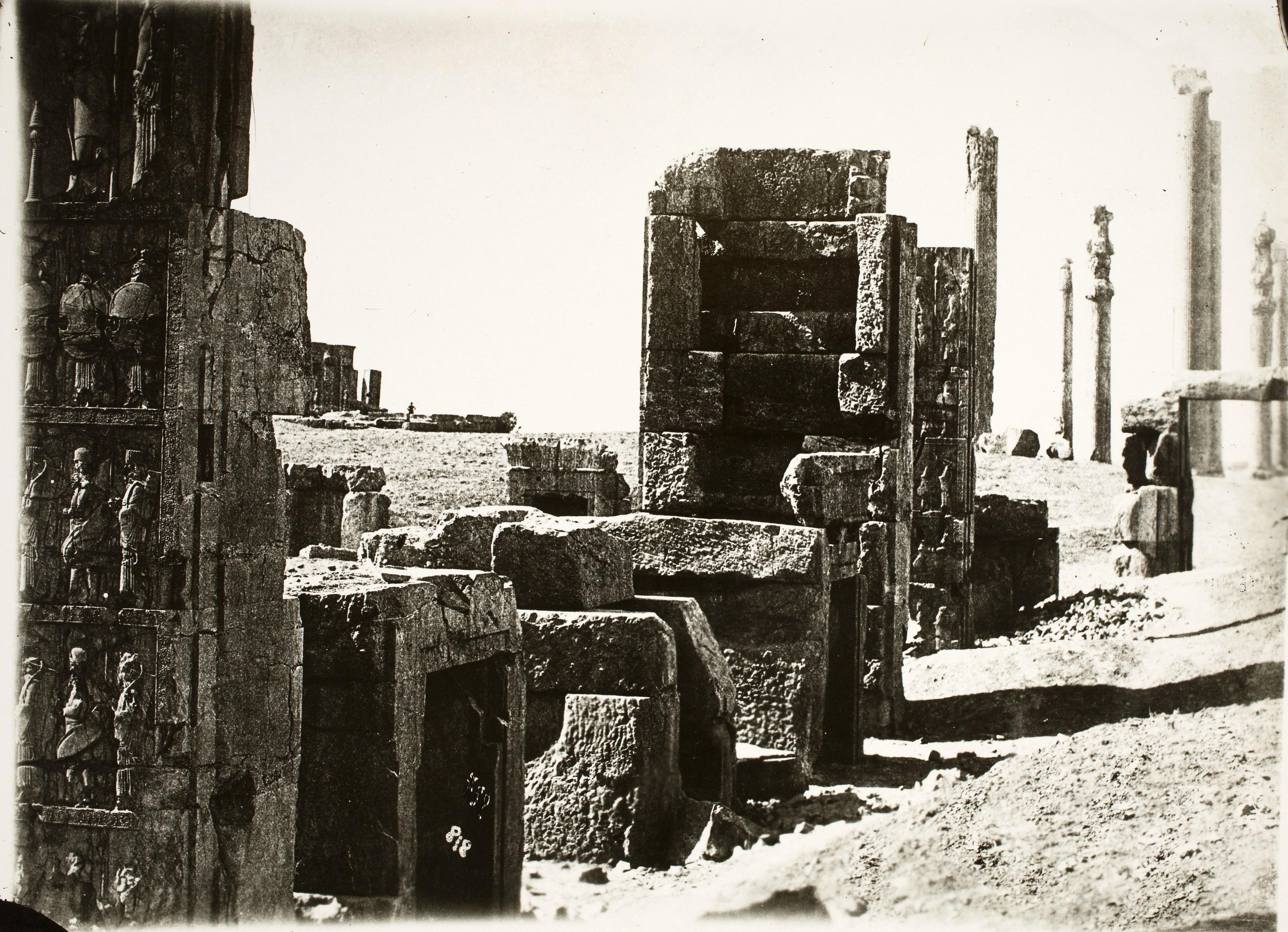 Персеполь. Трипилон. Северная стена тронного зала