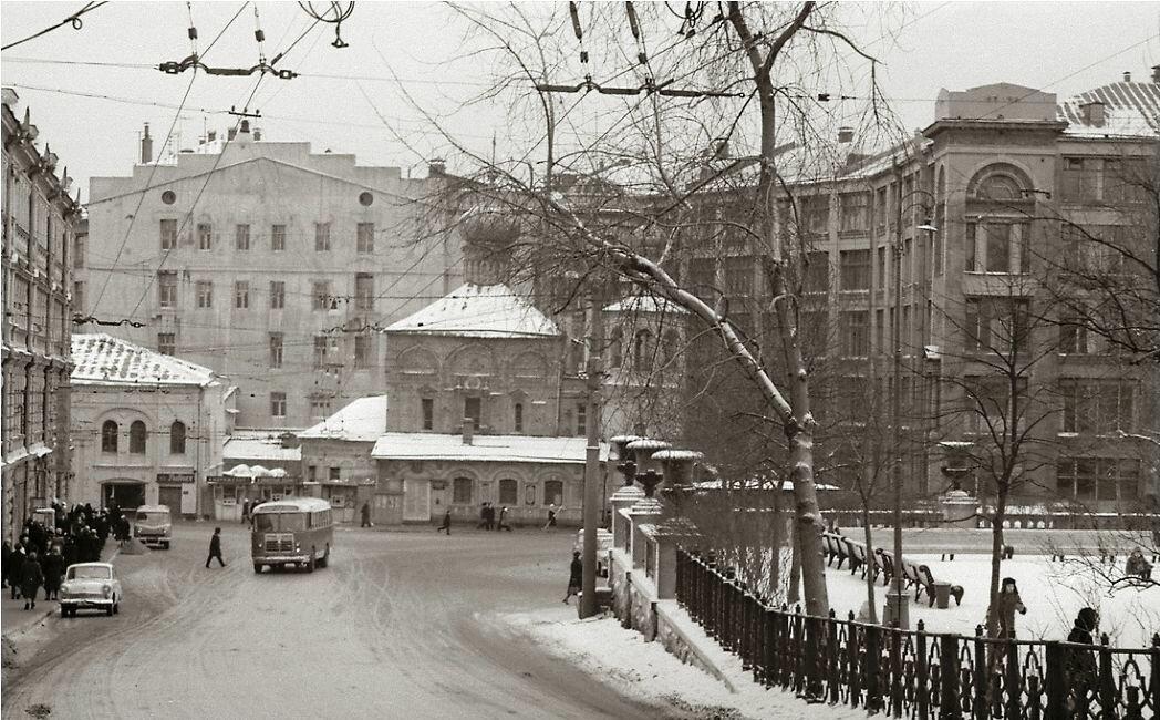 1964. Лубянский пр-д.,Площадь Ногина