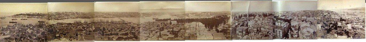 1875. Панорама Константинополя