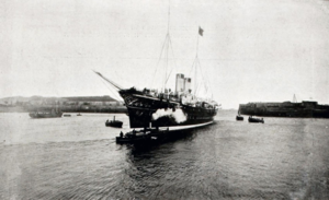 На пути в Шербур. Императорская яхта «Полярная Звезда»