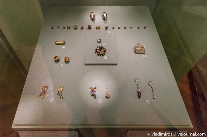 Древние степные ювелирные украшения