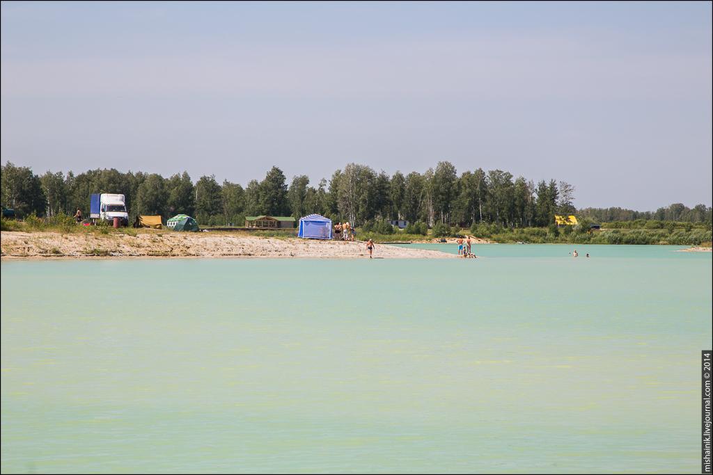 Карьер «Хлебороб-2» по добыче песка
