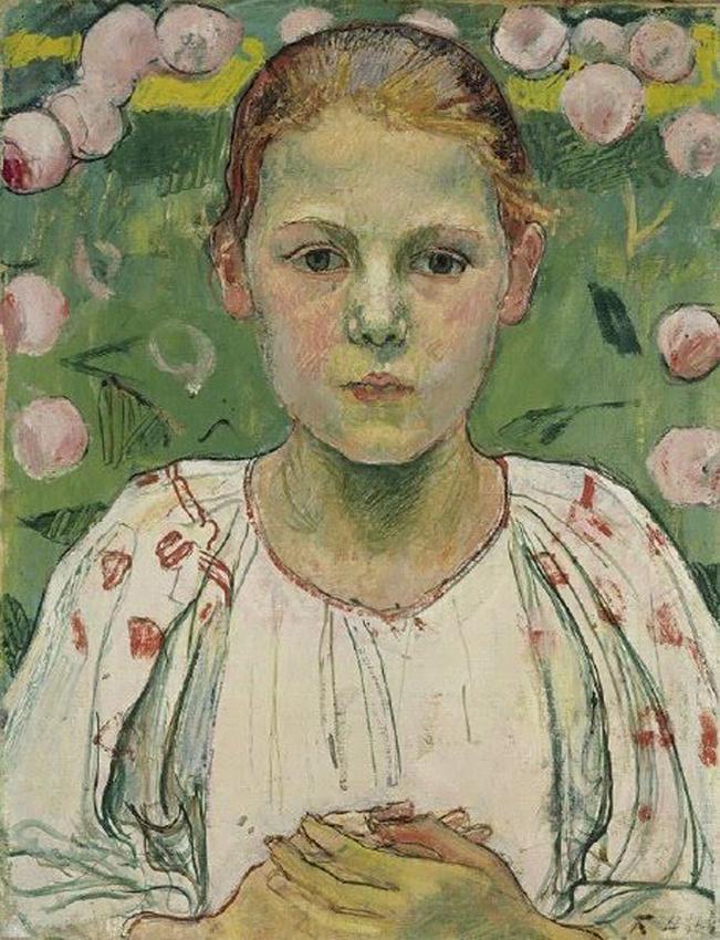Портрет баронессы Марии фон Бах, (1896 – 1978) Фердинанд Ходлер (1853-1918)