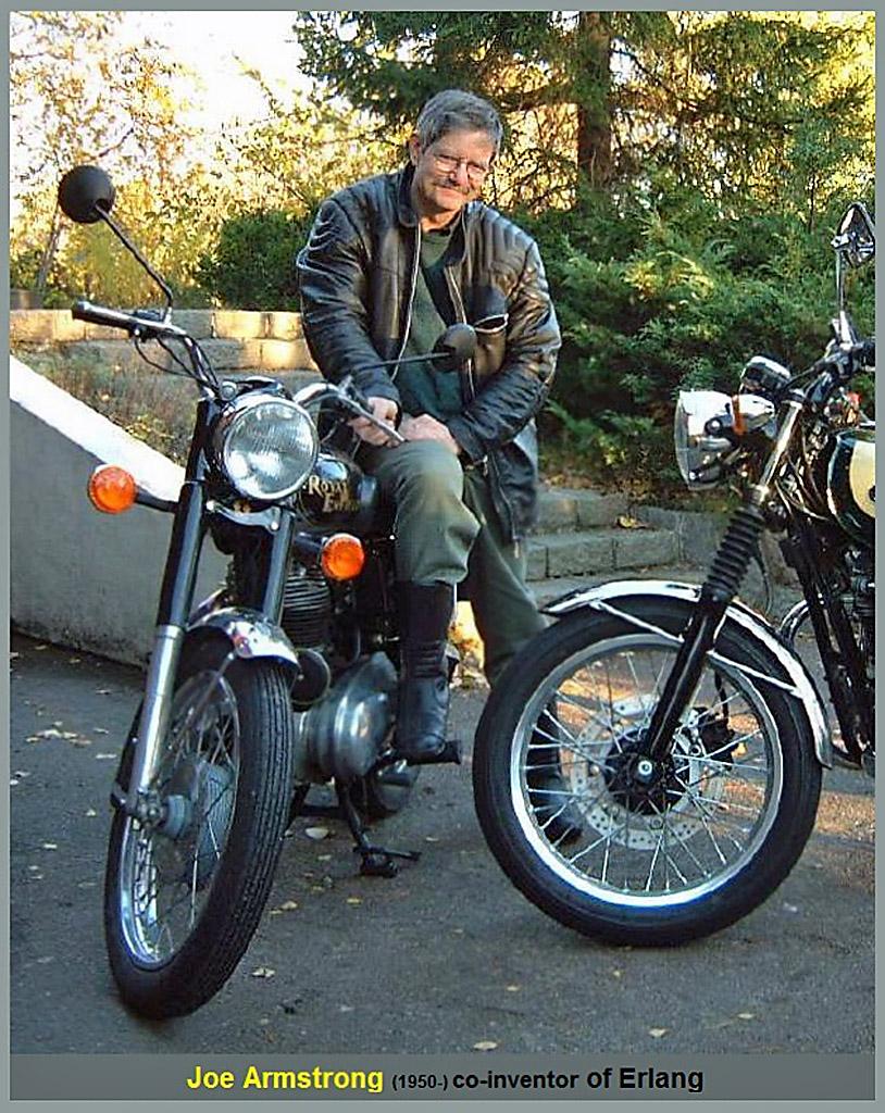 Джо Армстронг, Joe Armstrong. Сo-inventor of Erlang.