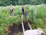 На велосипедах через болото 2014-07-30