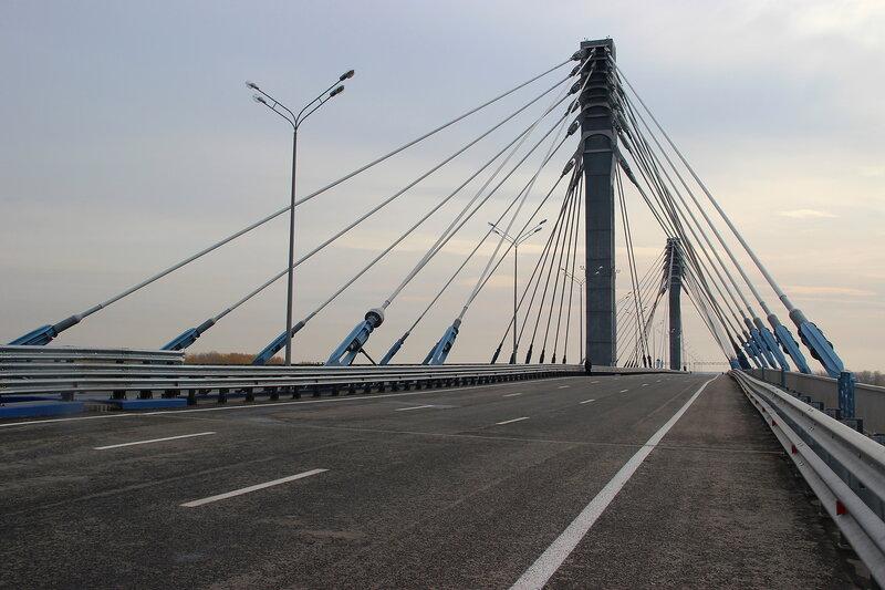 В открытии движения по мосту