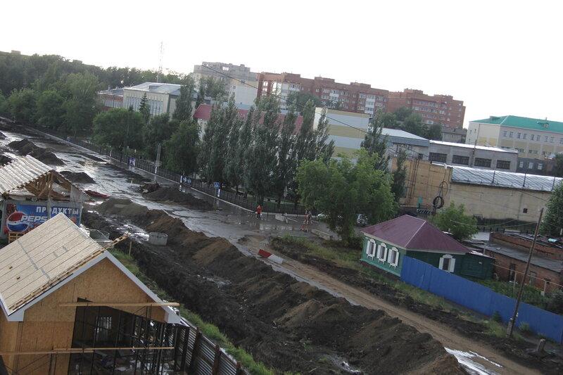 Улица 24-я Северная в Омске