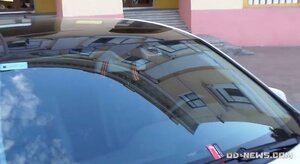 В Одессе напали на владельца авто с георгиевской лентой