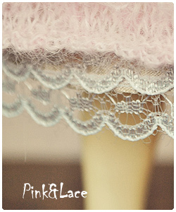 Pink&Lace: knitted dress for tiny BJD