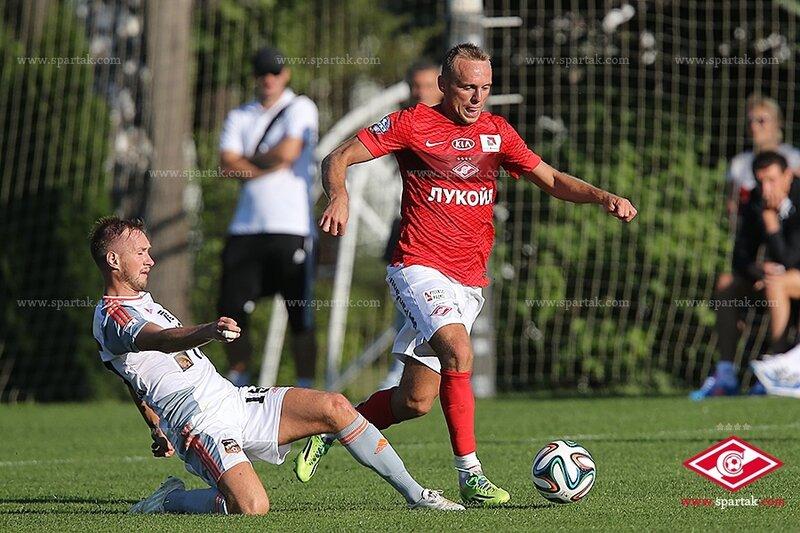«Спартак» vs «Урал» 4:4 контрольный матч 2014 (Фото)