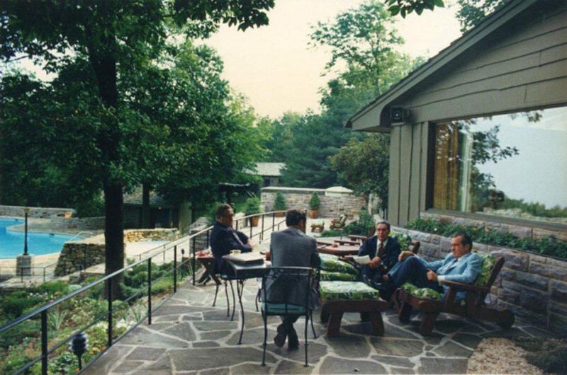 США. В летней резиденции американского президента. Автор Мусаэльян Владимир, 1973.jpg