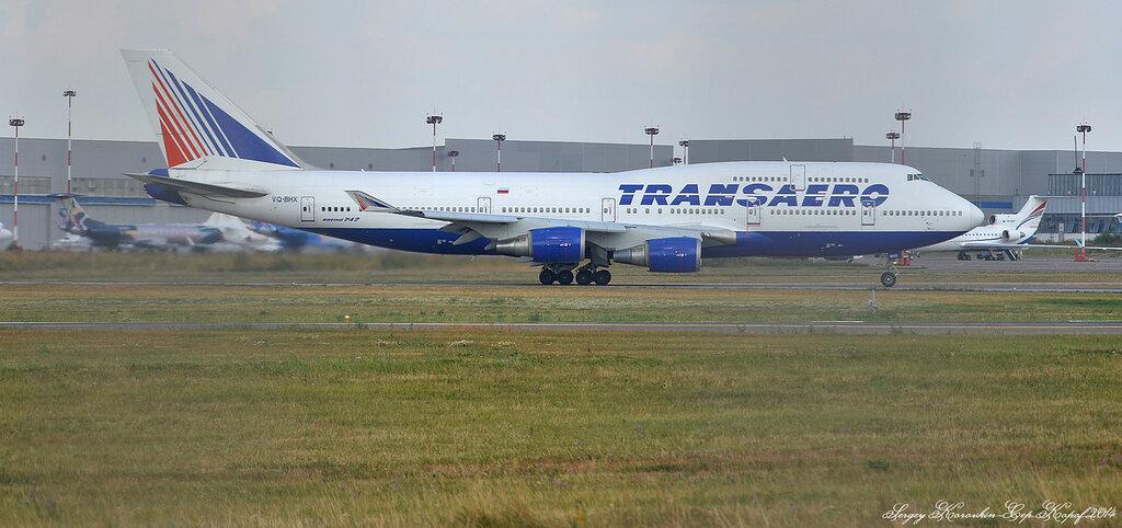Boeing 747-4F6 Transaero VQ-BHX